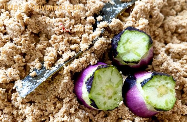 捨て漬け用の野菜